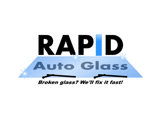 Logo Design by Ismail Adhi Wibowo - Entry No. 8 in the Logo Design Contest Unique Logo Design Wanted for Rapid Auto Glass.