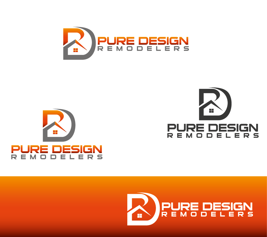 Logo Design by Private User - Entry No. 19 in the Logo Design Contest Custom Logo Design for Pure Design Remodelers.