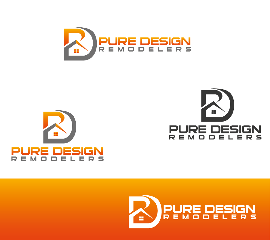 Logo Design by Private User - Entry No. 21 in the Logo Design Contest Custom Logo Design for Pure Design Remodelers.