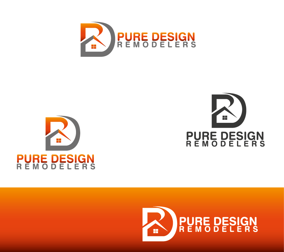 Logo Design by Private User - Entry No. 22 in the Logo Design Contest Custom Logo Design for Pure Design Remodelers.
