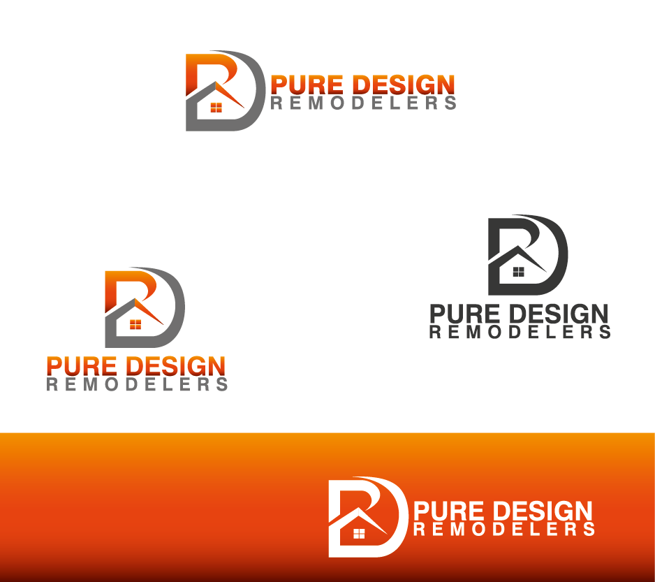 Logo Design by Private User - Entry No. 23 in the Logo Design Contest Custom Logo Design for Pure Design Remodelers.