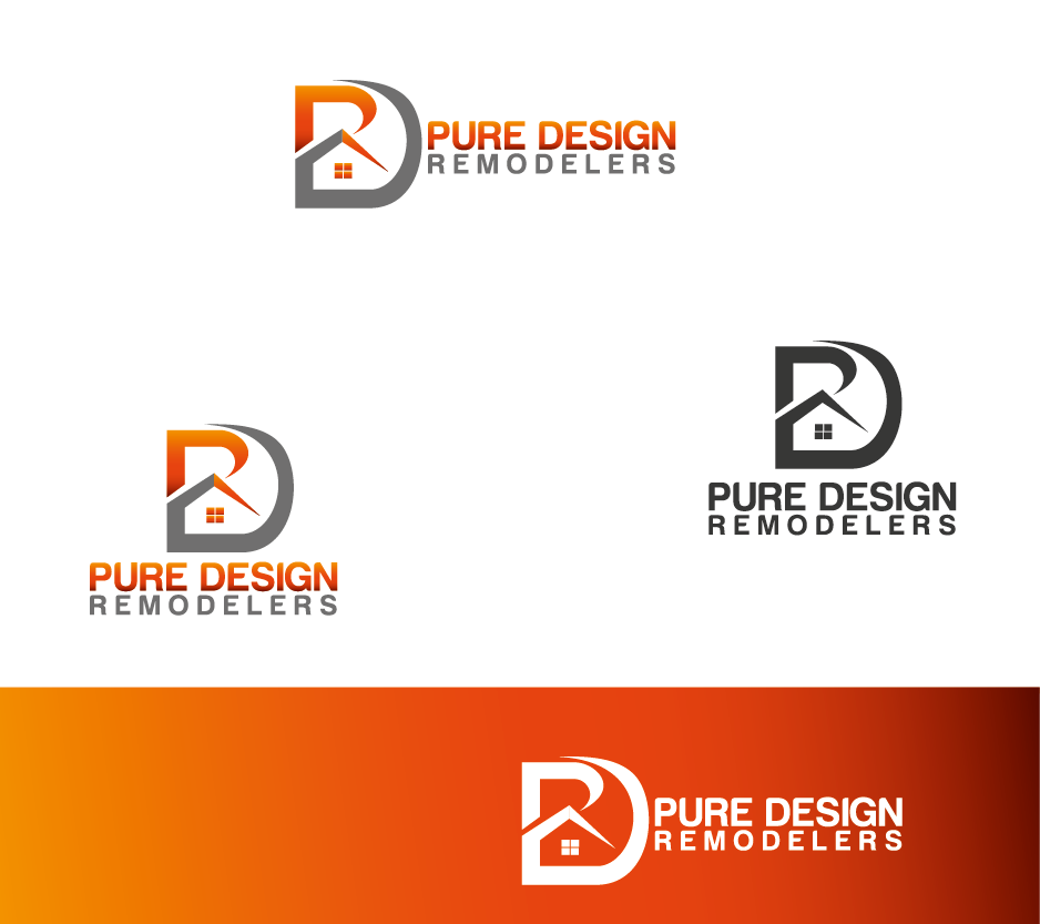 Logo Design by Private User - Entry No. 24 in the Logo Design Contest Custom Logo Design for Pure Design Remodelers.