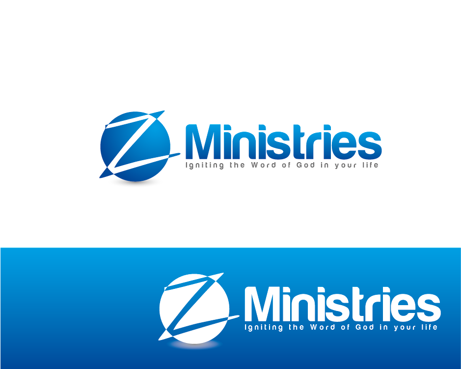 Logo Design by Private User - Entry No. 28 in the Logo Design Contest Artistic Logo Design for Z Ministries.