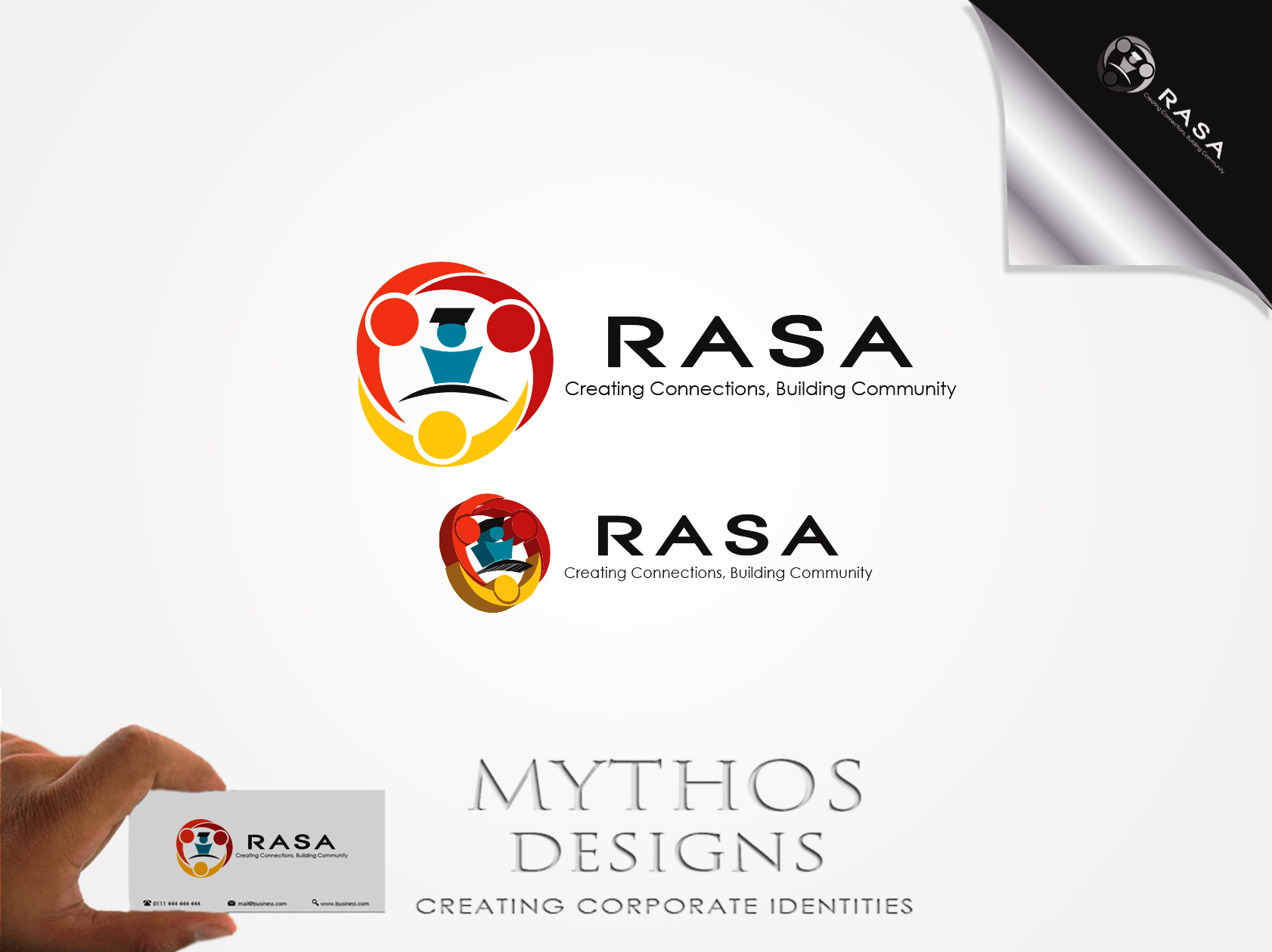 Logo Design by Mythos Designs - Entry No. 50 in the Logo Design Contest New Logo Design for RASA - Richmond Association of School Administrato.