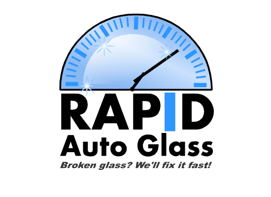 Logo Design by Ismail Adhi Wibowo - Entry No. 9 in the Logo Design Contest Unique Logo Design Wanted for Rapid Auto Glass.