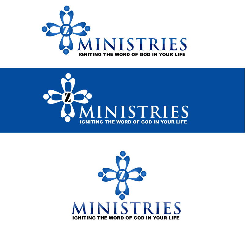 Logo Design by RAJU CHATTERJEE - Entry No. 31 in the Logo Design Contest Artistic Logo Design for Z Ministries.