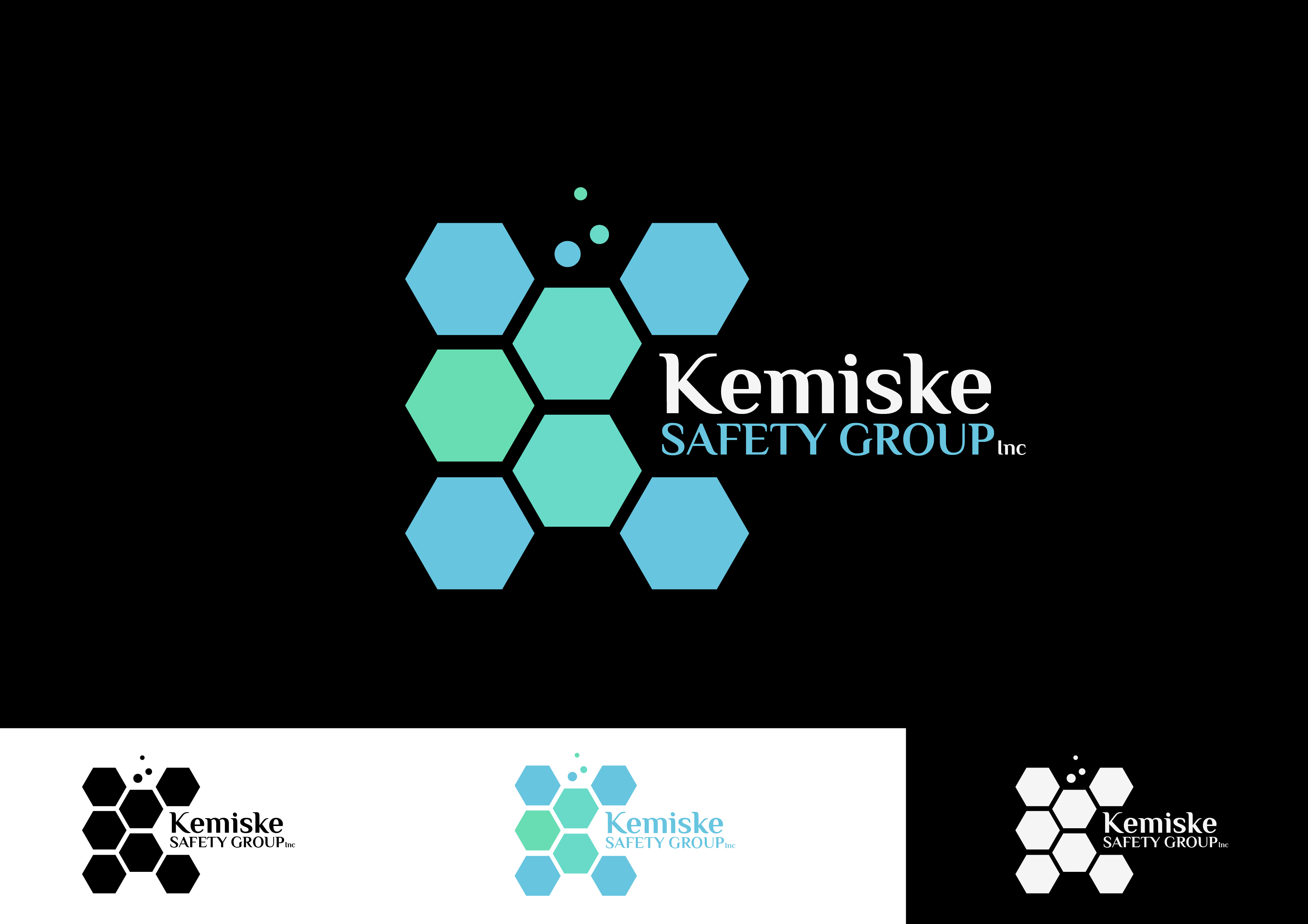 Logo Design by 3draw - Entry No. 81 in the Logo Design Contest New Logo Design for Kemiske Safety Group Inc..