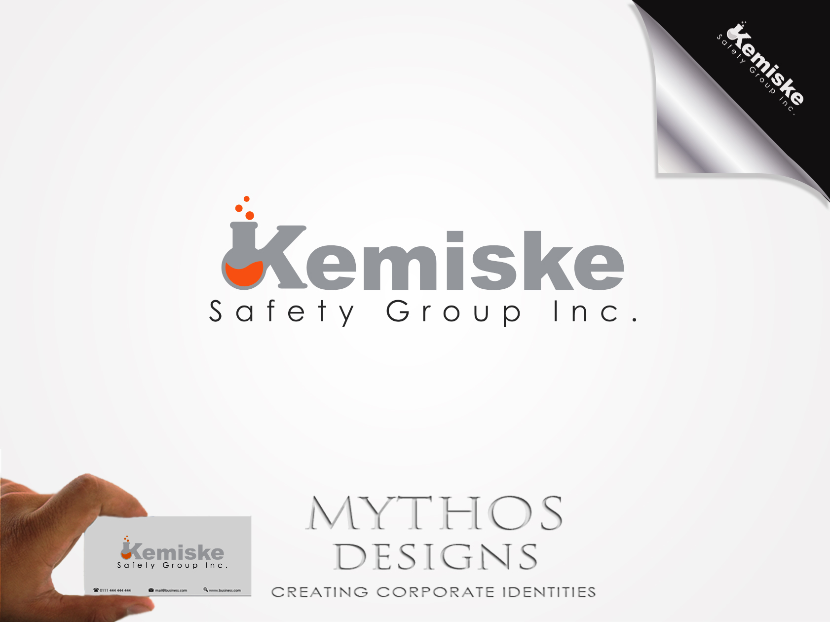 Logo Design by Mythos Designs - Entry No. 82 in the Logo Design Contest New Logo Design for Kemiske Safety Group Inc..
