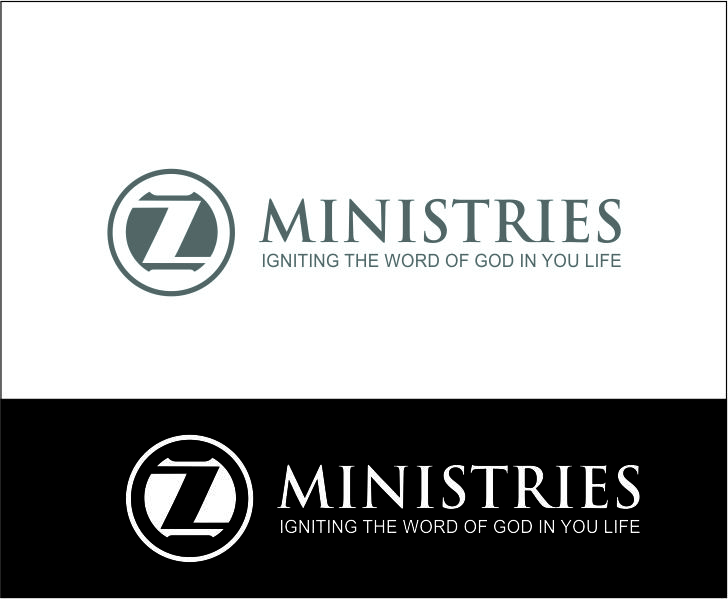 Logo Design by Agus Martoyo - Entry No. 32 in the Logo Design Contest Artistic Logo Design for Z Ministries.