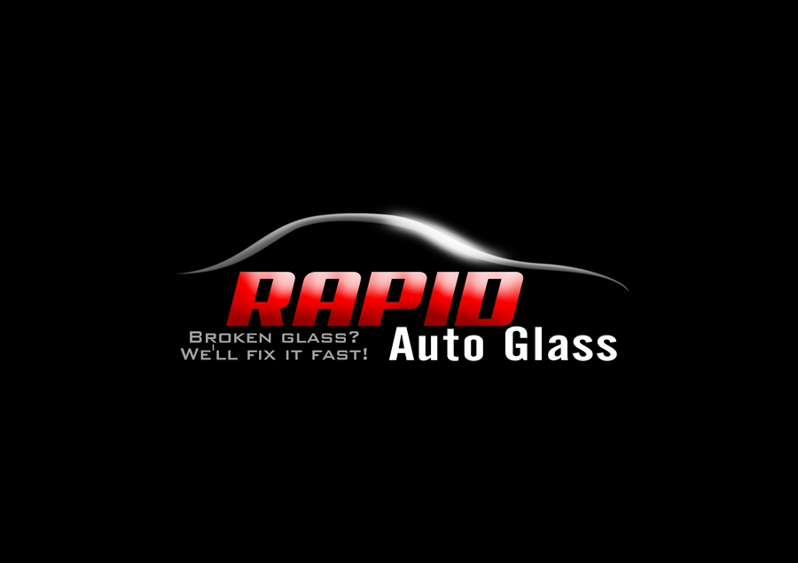 Logo Design by Respati Himawan - Entry No. 15 in the Logo Design Contest Unique Logo Design Wanted for Rapid Auto Glass.