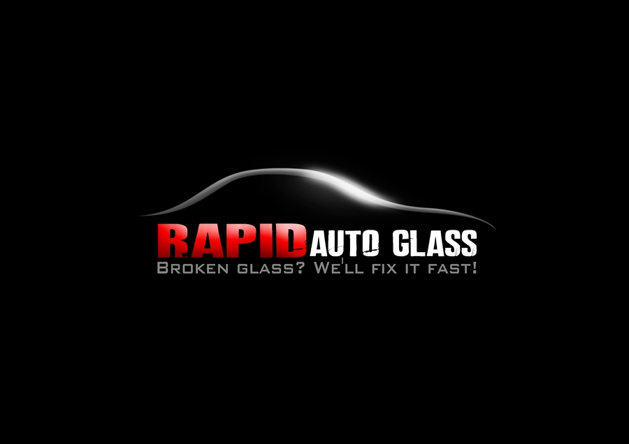 Logo Design by Respati Himawan - Entry No. 16 in the Logo Design Contest Unique Logo Design Wanted for Rapid Auto Glass.