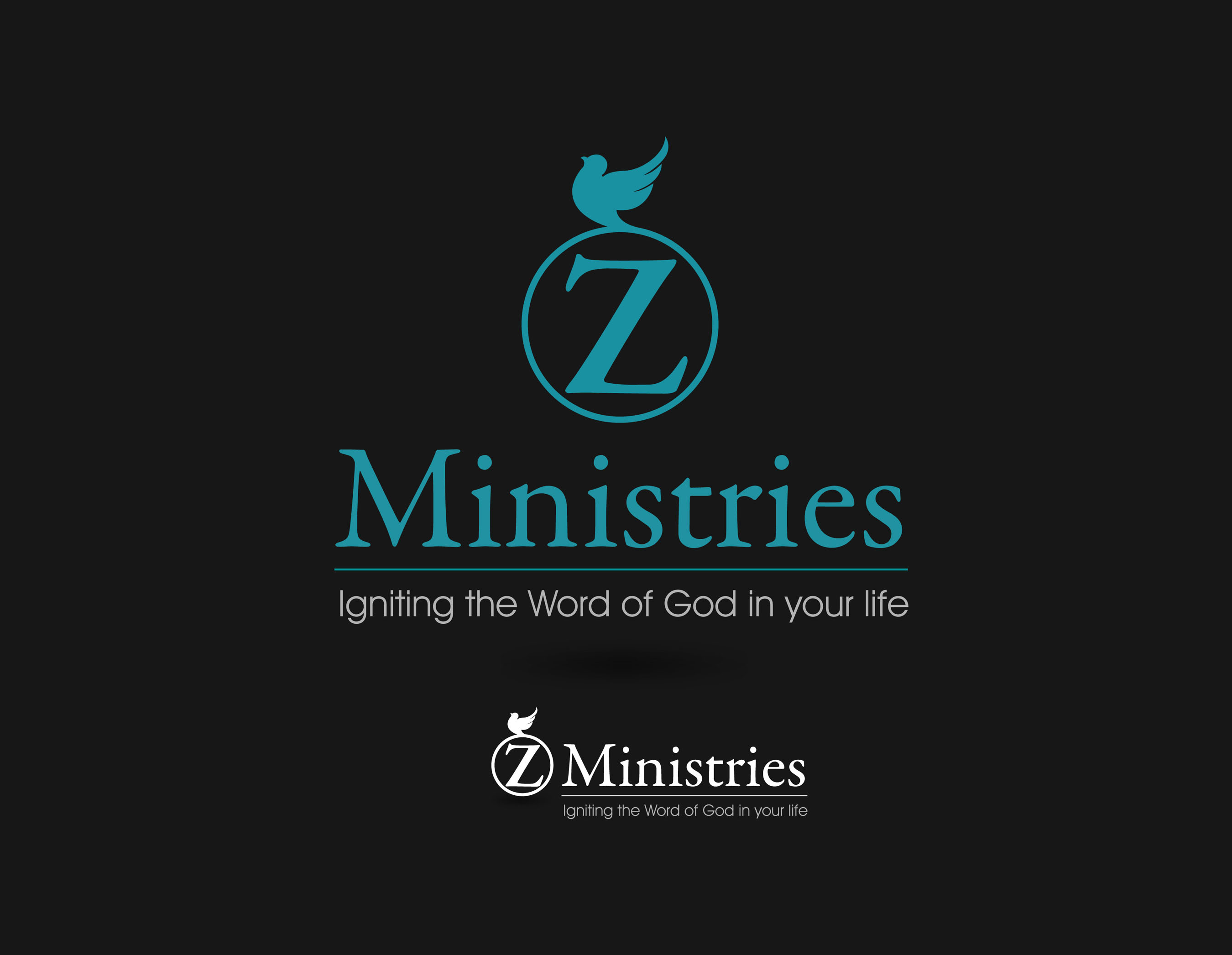 Logo Design by Mark Anthony Moreto Jordan - Entry No. 35 in the Logo Design Contest Artistic Logo Design for Z Ministries.