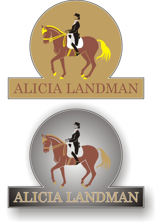 Logo Design by Korsunov Oleg - Entry No. 9 in the Logo Design Contest Fun Logo Design for Alicia Landman.