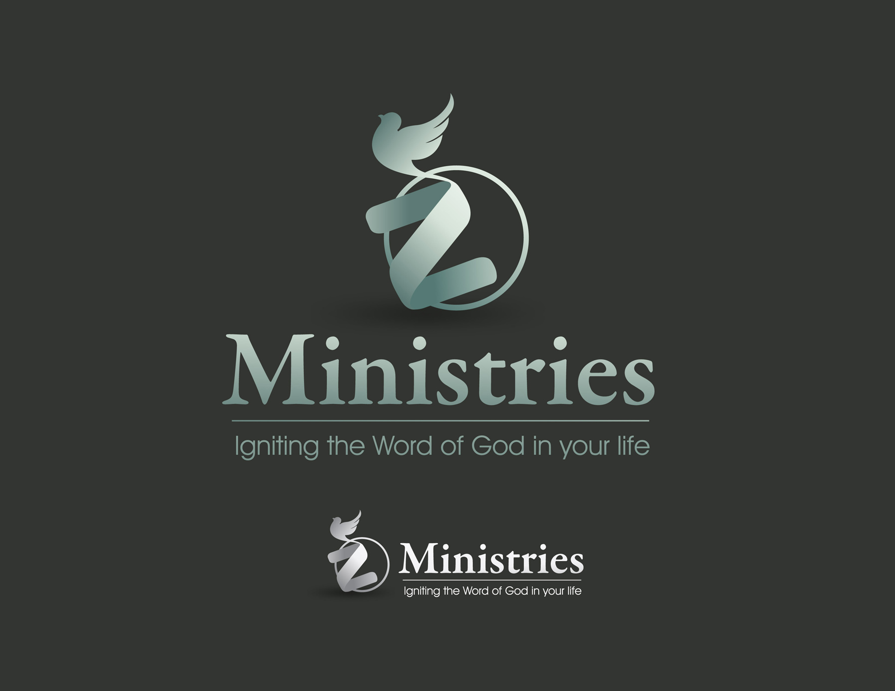 Logo Design by Mark Anthony Moreto Jordan - Entry No. 39 in the Logo Design Contest Artistic Logo Design for Z Ministries.