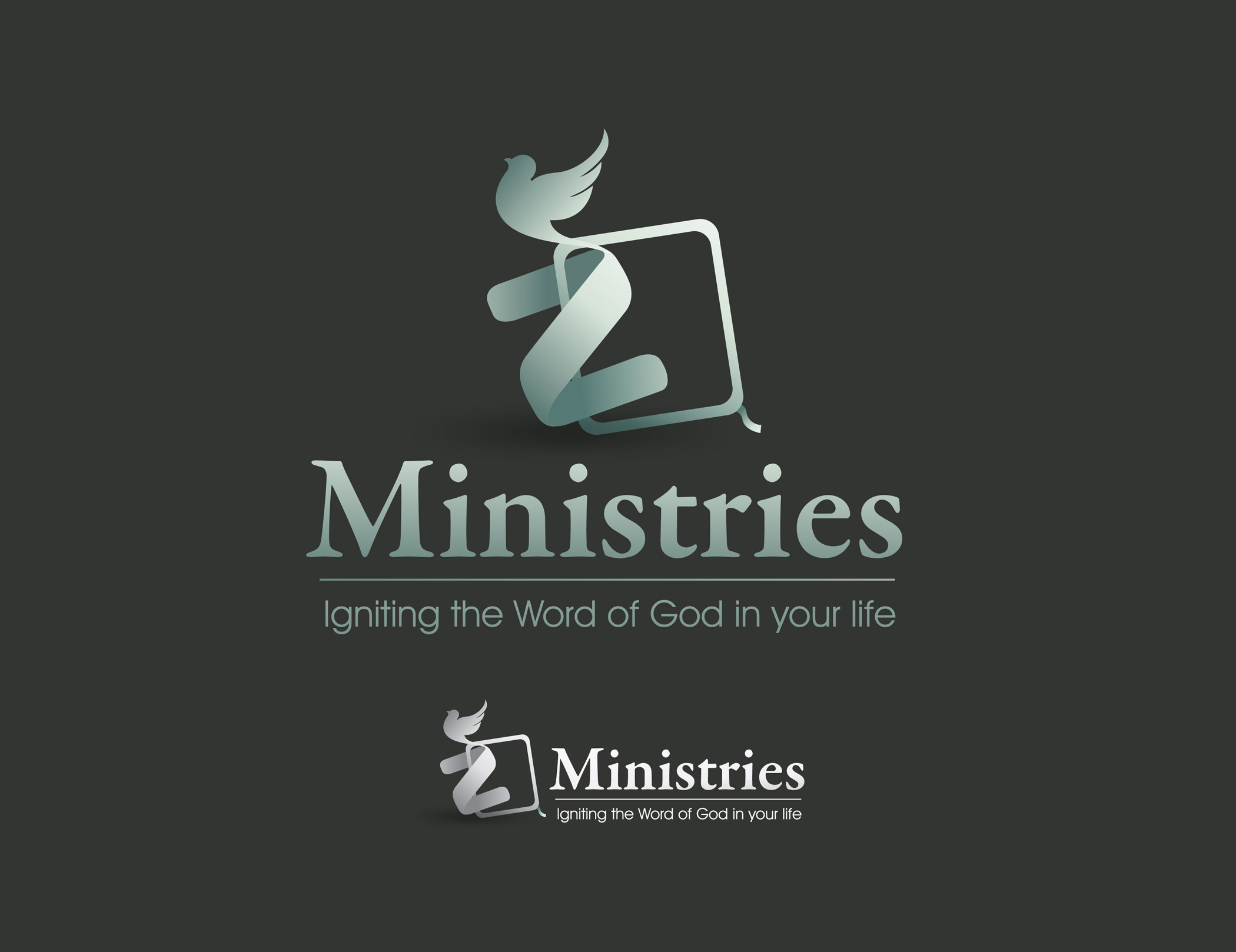 Logo Design by Mark Anthony Moreto Jordan - Entry No. 41 in the Logo Design Contest Artistic Logo Design for Z Ministries.
