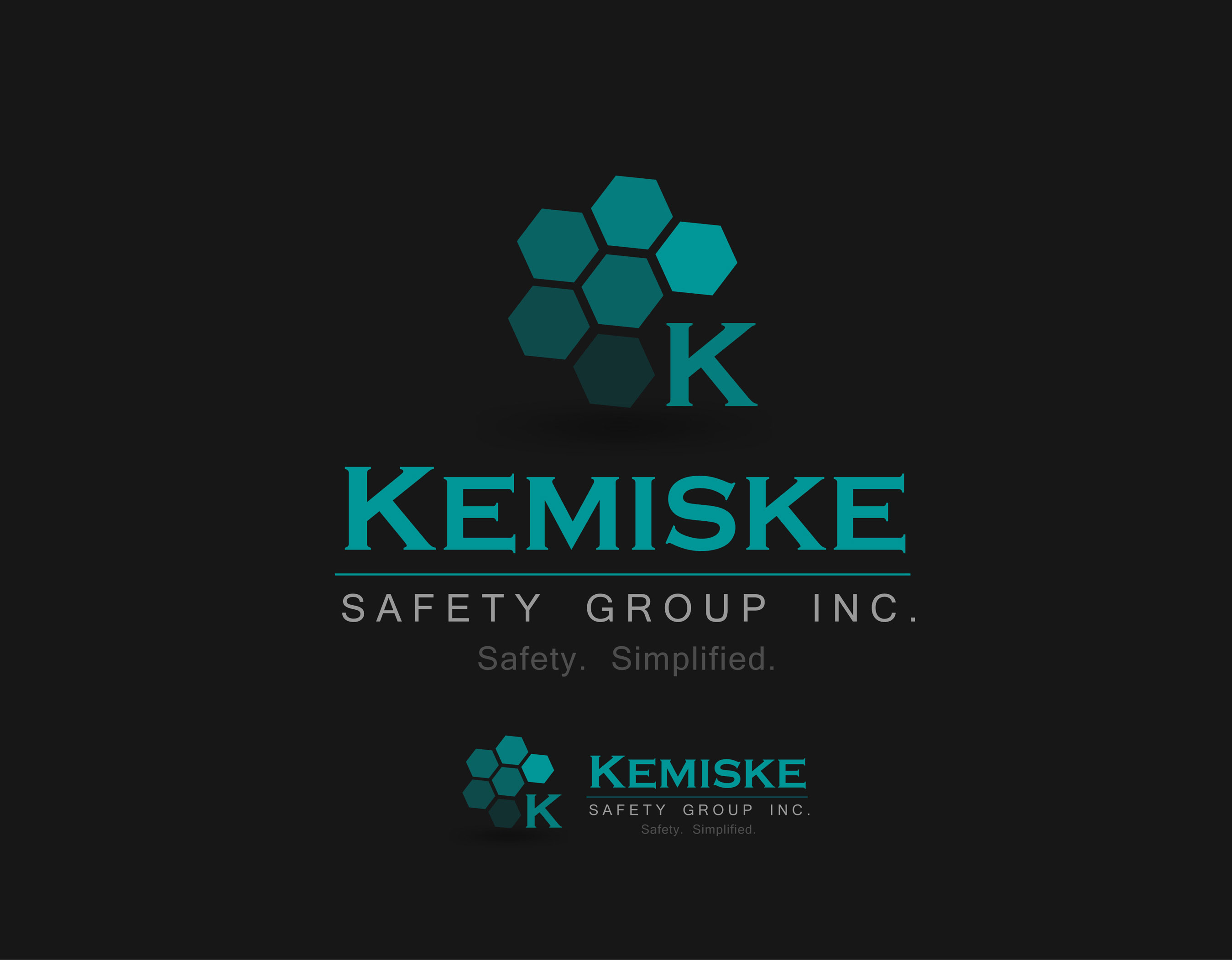 Logo Design by Mark Anthony Moreto Jordan - Entry No. 91 in the Logo Design Contest New Logo Design for Kemiske Safety Group Inc..