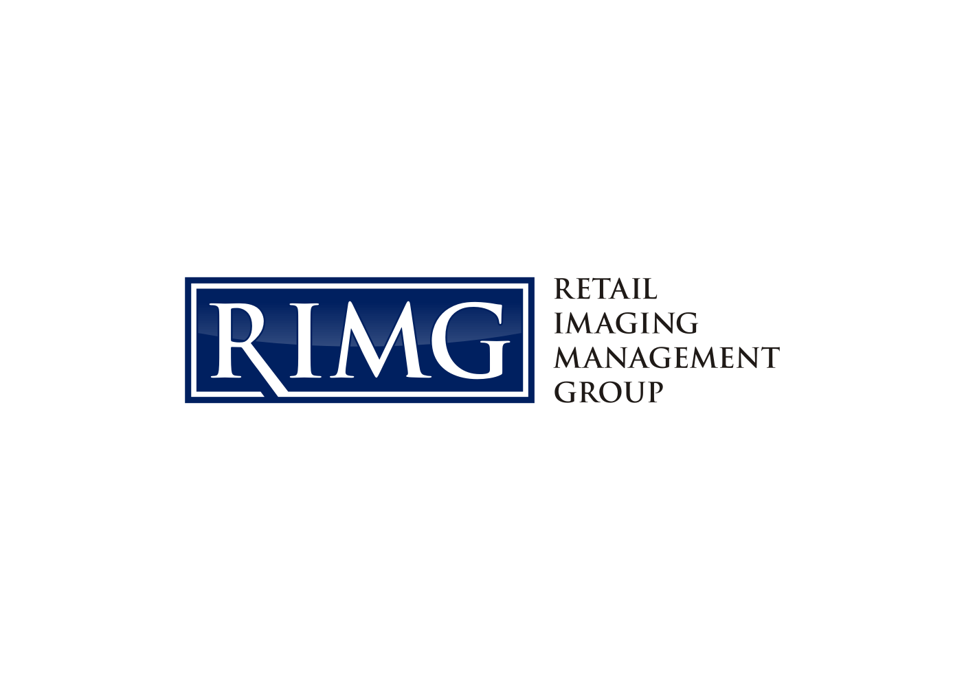 Logo Design by Ekarini Puspitasari - Entry No. 8 in the Logo Design Contest Creative Logo Design for Retail Imaging Management Group (R.I.M.G.).