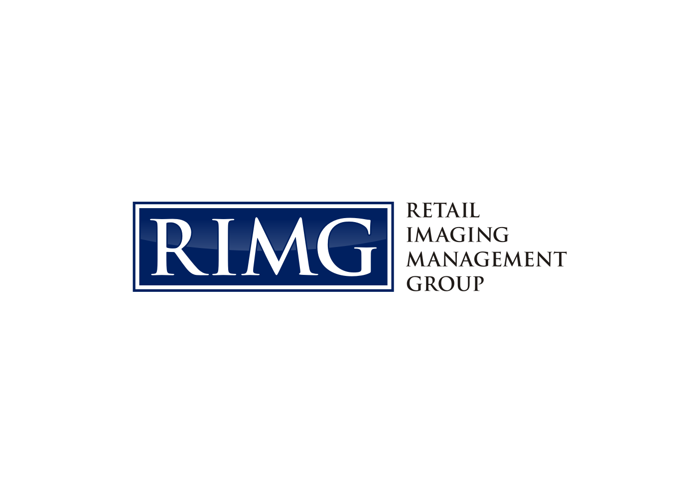 Logo Design by Ekarini Puspitasari - Entry No. 9 in the Logo Design Contest Creative Logo Design for Retail Imaging Management Group (R.I.M.G.).