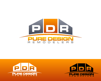 Logo Design by Private User - Entry No. 27 in the Logo Design Contest Custom Logo Design for Pure Design Remodelers.