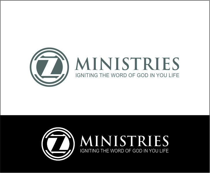 Logo Design by Agus Martoyo - Entry No. 43 in the Logo Design Contest Artistic Logo Design for Z Ministries.