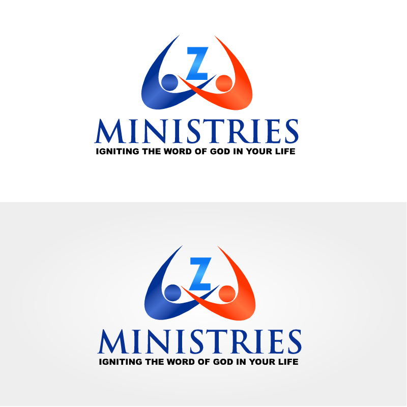 Logo Design by RAJU CHATTERJEE - Entry No. 44 in the Logo Design Contest Artistic Logo Design for Z Ministries.