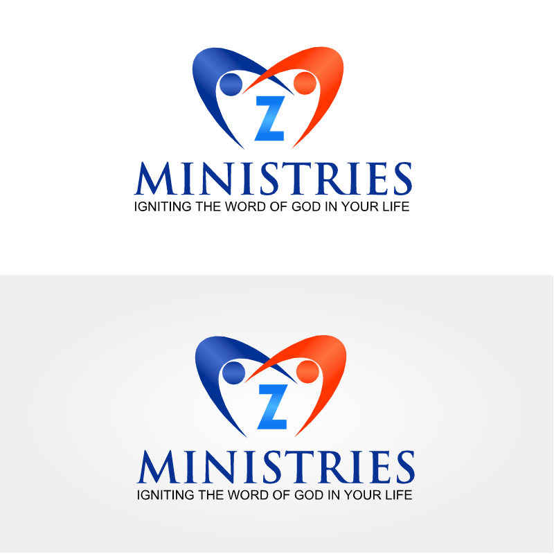 Logo Design by RAJU CHATTERJEE - Entry No. 45 in the Logo Design Contest Artistic Logo Design for Z Ministries.