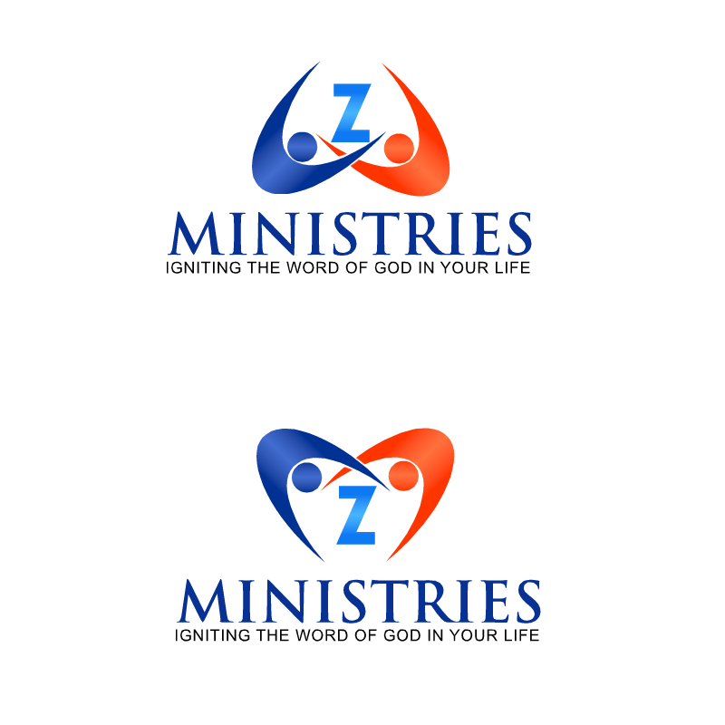 Logo Design by RAJU CHATTERJEE - Entry No. 46 in the Logo Design Contest Artistic Logo Design for Z Ministries.