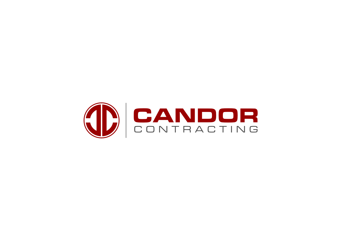 Logo Design by Ekarini Puspitasari - Entry No. 5 in the Logo Design Contest Unique Logo Design Wanted for Candor Contracting.