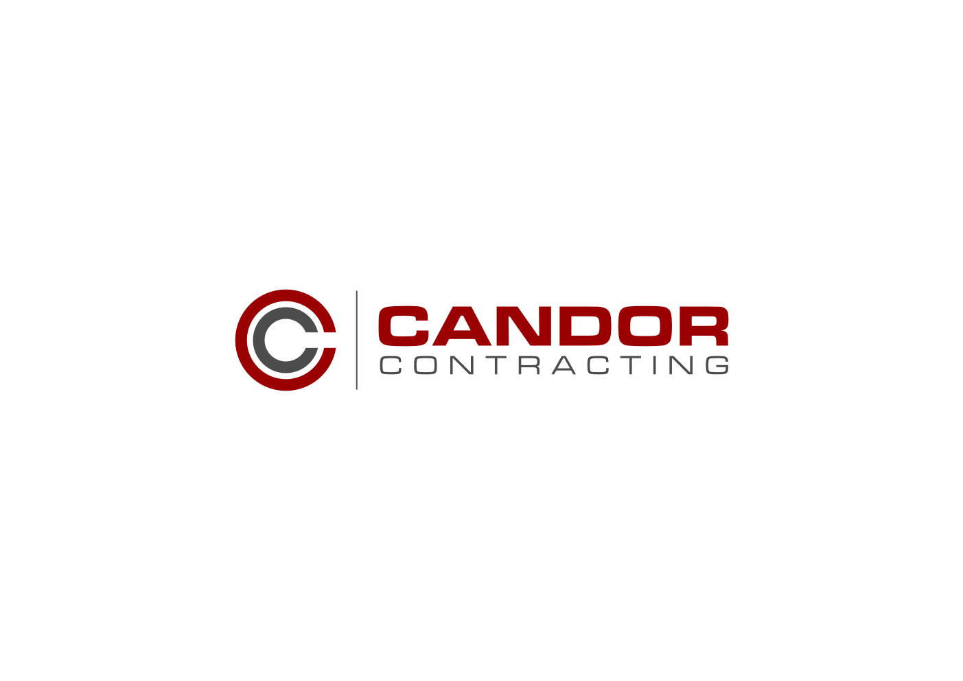 Logo Design by Ekarini Puspitasari - Entry No. 6 in the Logo Design Contest Unique Logo Design Wanted for Candor Contracting.