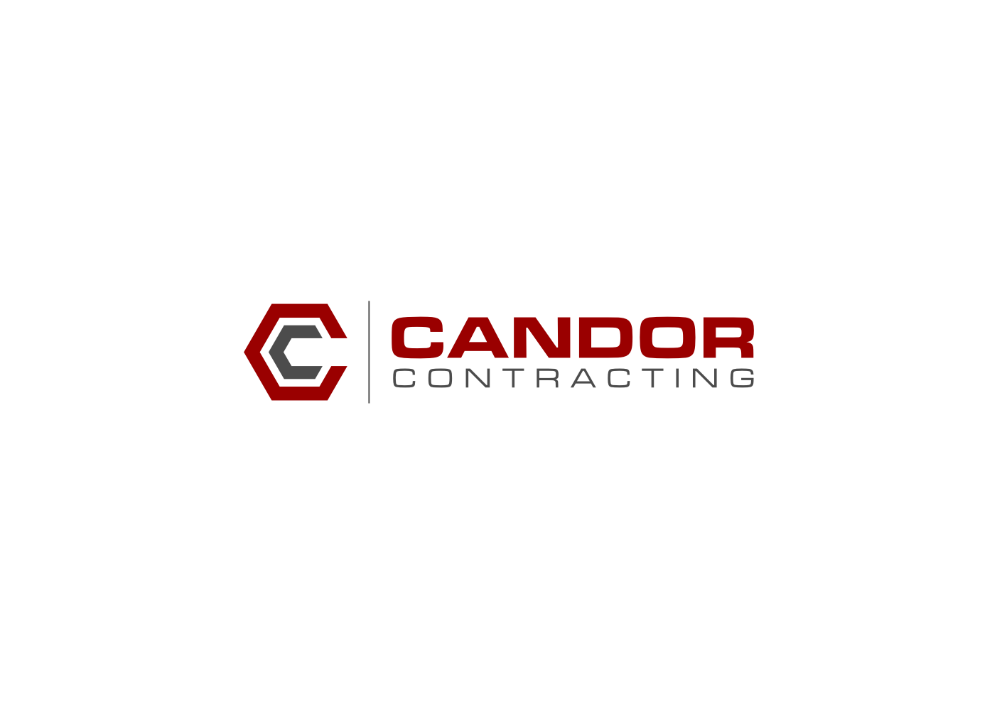 Logo Design by Ekarini Puspitasari - Entry No. 7 in the Logo Design Contest Unique Logo Design Wanted for Candor Contracting.