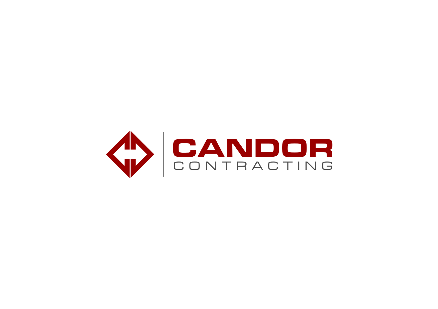 Logo Design by Ekarini Puspitasari - Entry No. 8 in the Logo Design Contest Unique Logo Design Wanted for Candor Contracting.