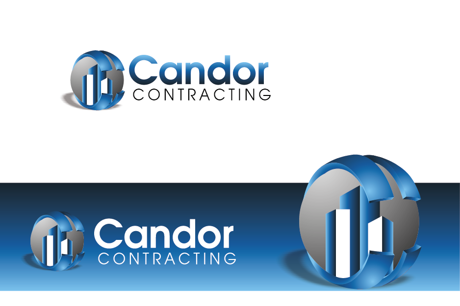 Logo Design by Private User - Entry No. 11 in the Logo Design Contest Unique Logo Design Wanted for Candor Contracting.