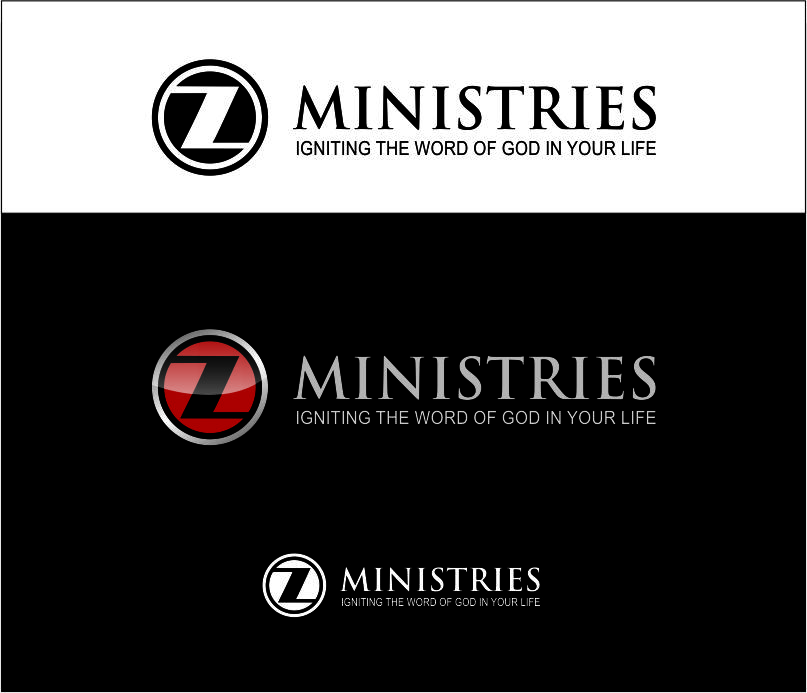 Logo Design by Agus Martoyo - Entry No. 54 in the Logo Design Contest Artistic Logo Design for Z Ministries.
