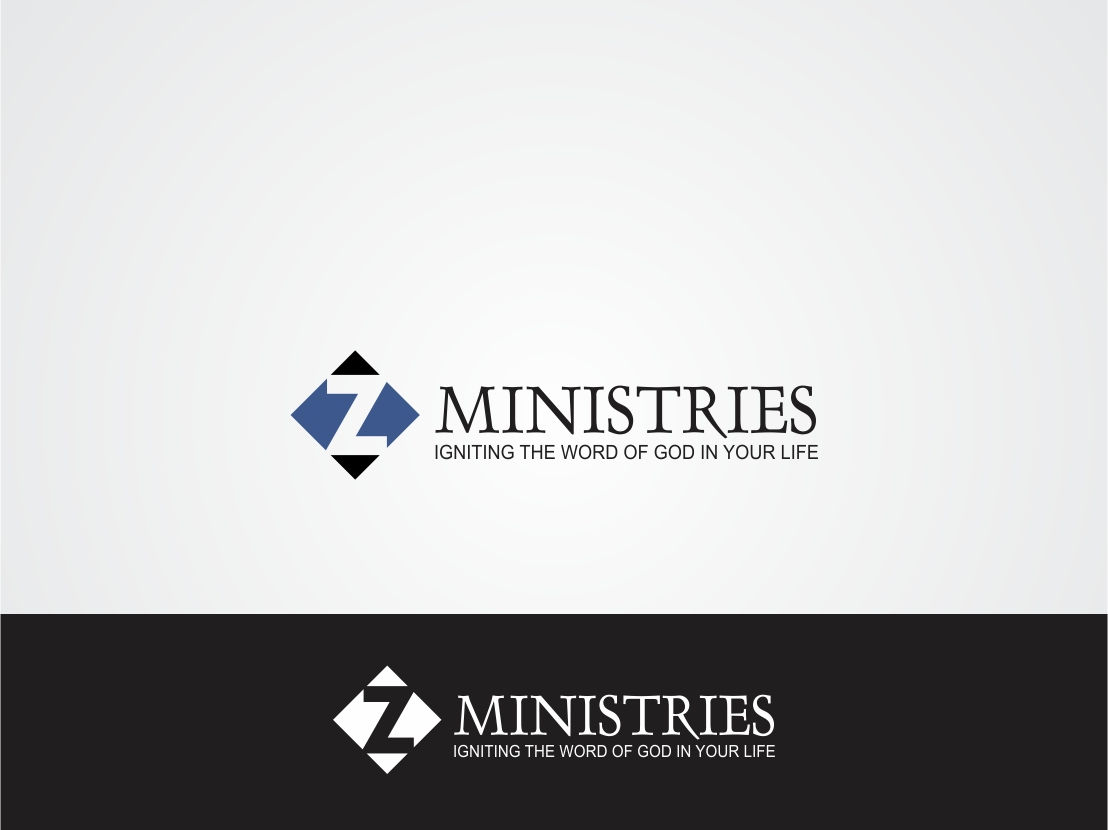 Logo Design by Rizwan Saeed - Entry No. 57 in the Logo Design Contest Artistic Logo Design for Z Ministries.