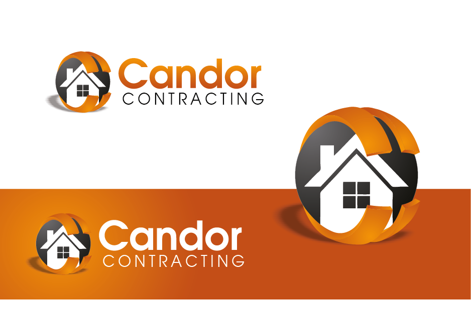 Logo Design by Private User - Entry No. 13 in the Logo Design Contest Unique Logo Design Wanted for Candor Contracting.