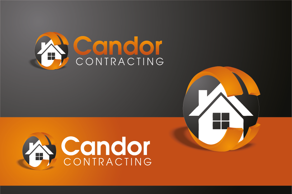 Logo Design by Private User - Entry No. 14 in the Logo Design Contest Unique Logo Design Wanted for Candor Contracting.
