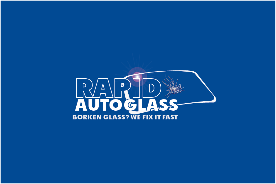 Logo Design by Private User - Entry No. 43 in the Logo Design Contest Unique Logo Design Wanted for Rapid Auto Glass.