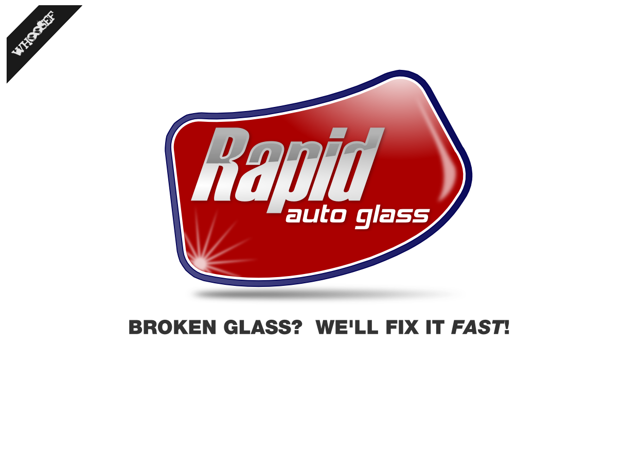 Logo Design by whoosef - Entry No. 44 in the Logo Design Contest Unique Logo Design Wanted for Rapid Auto Glass.