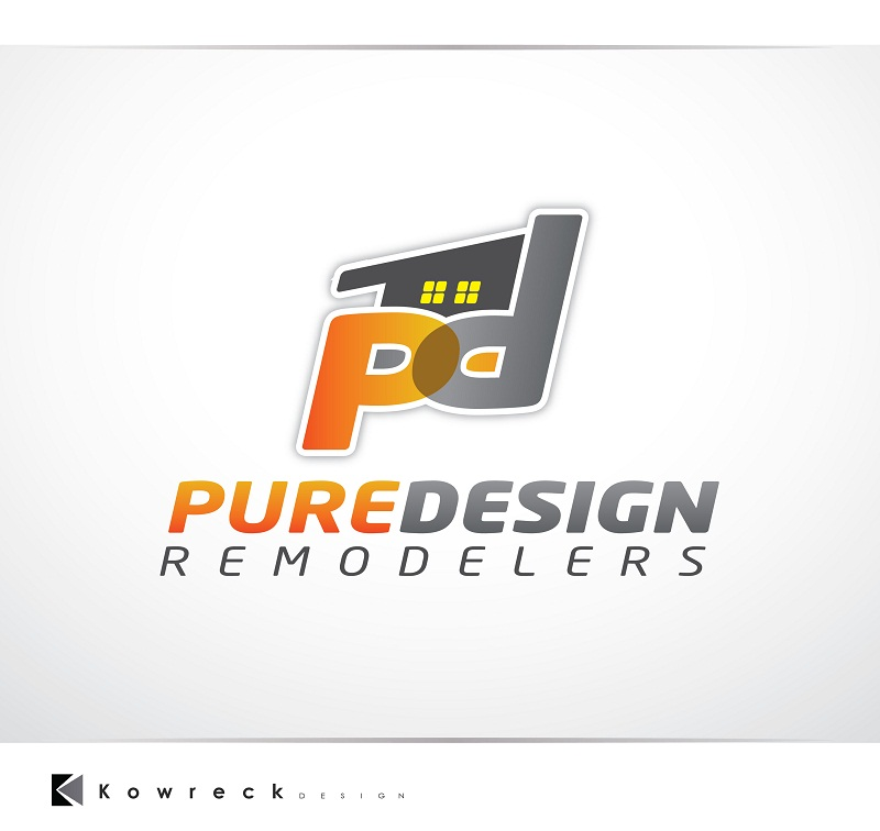 Logo Design by kowreck - Entry No. 30 in the Logo Design Contest Custom Logo Design for Pure Design Remodelers.