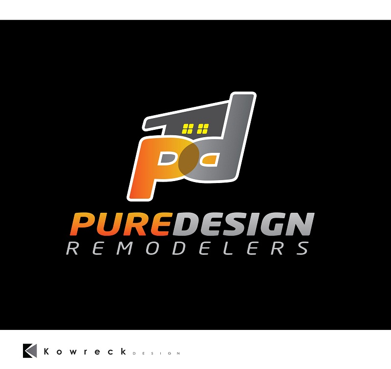 Logo Design by kowreck - Entry No. 31 in the Logo Design Contest Custom Logo Design for Pure Design Remodelers.
