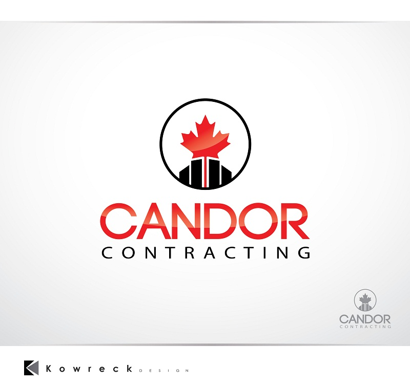 Logo Design by kowreck - Entry No. 16 in the Logo Design Contest Unique Logo Design Wanted for Candor Contracting.