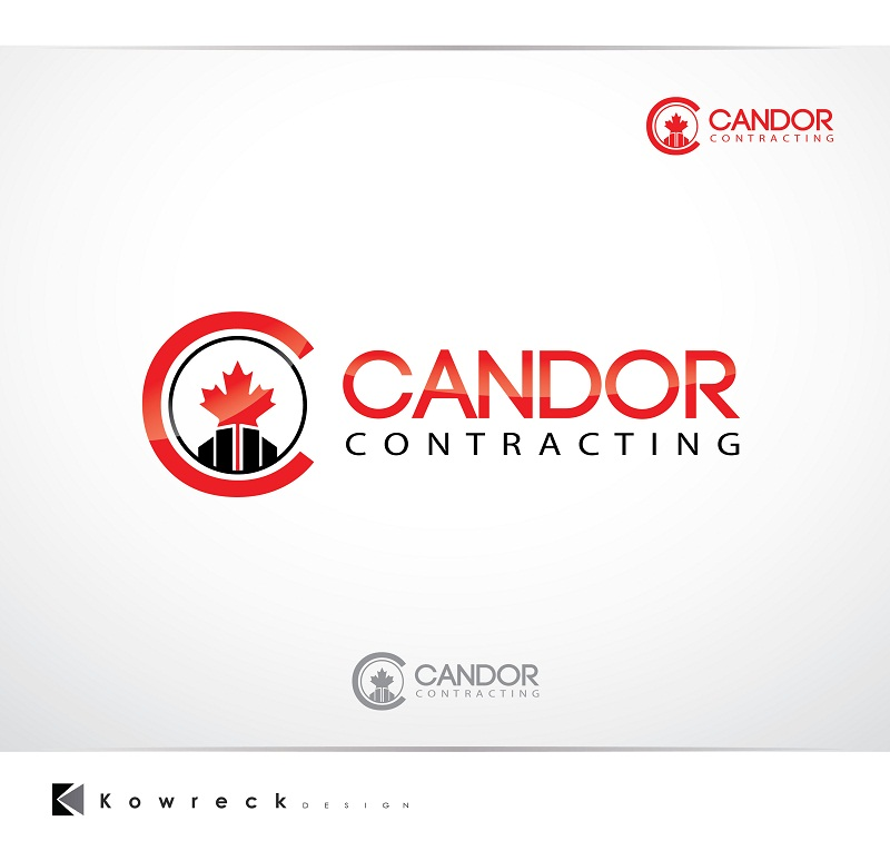 Logo Design by kowreck - Entry No. 17 in the Logo Design Contest Unique Logo Design Wanted for Candor Contracting.