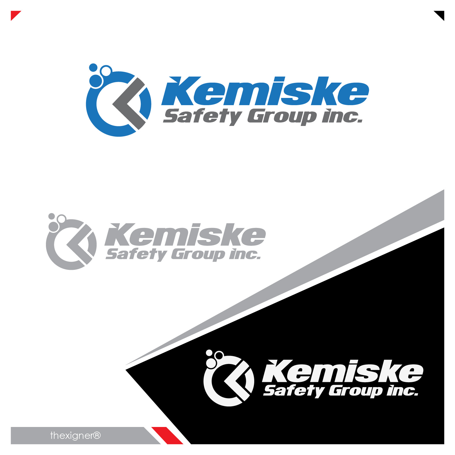 Logo Design by lagalag - Entry No. 121 in the Logo Design Contest New Logo Design for Kemiske Safety Group Inc..