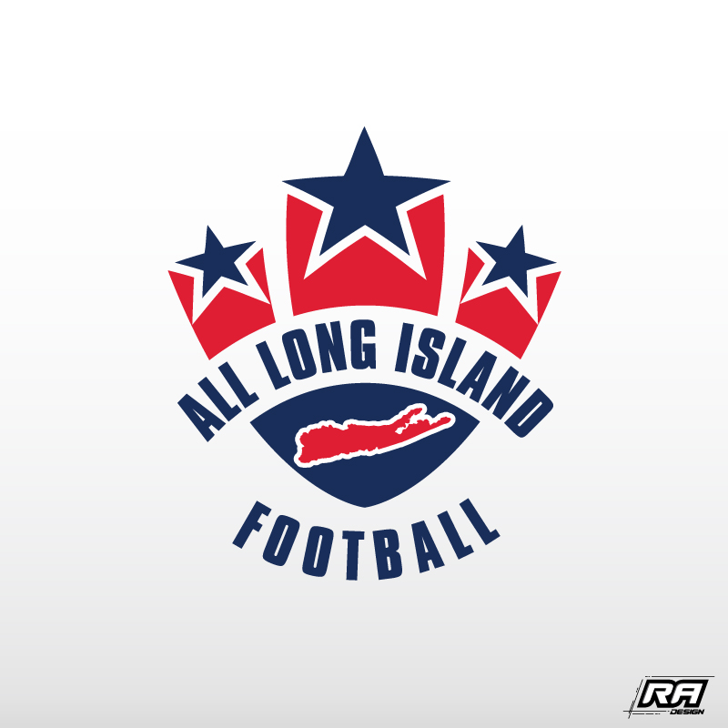 Logo Design by RA-Design - Entry No. 4 in the Logo Design Contest Unique Logo Design Wanted for ALL LONG ISLAND FOOTBALL.
