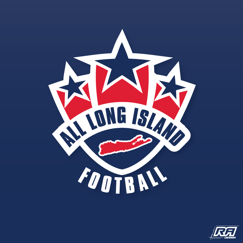 Logo Design by RA-Design - Entry No. 5 in the Logo Design Contest Unique Logo Design Wanted for ALL LONG ISLAND FOOTBALL.