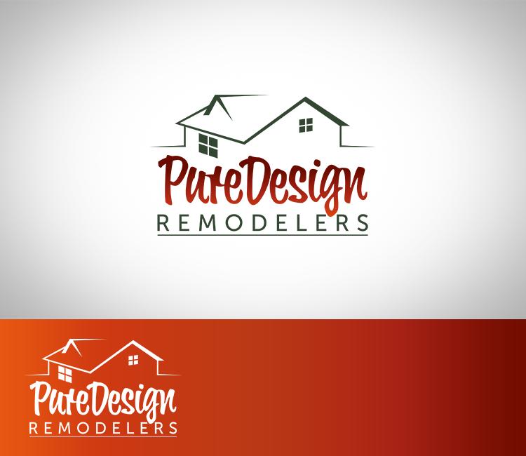 Logo Design by Dije Eki - Entry No. 33 in the Logo Design Contest Custom Logo Design for Pure Design Remodelers.