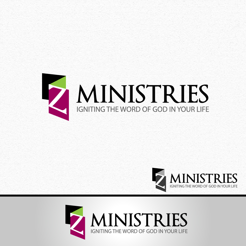 Logo Design by rockin - Entry No. 59 in the Logo Design Contest Artistic Logo Design for Z Ministries.