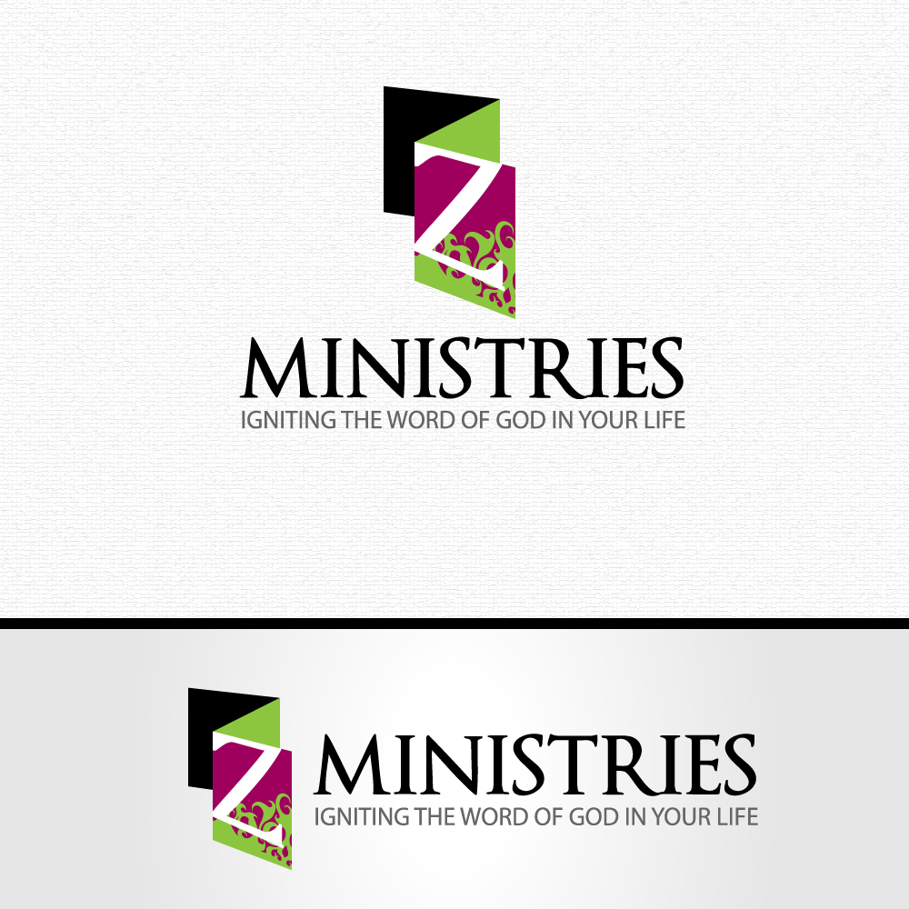 Logo Design by rockin - Entry No. 63 in the Logo Design Contest Artistic Logo Design for Z Ministries.