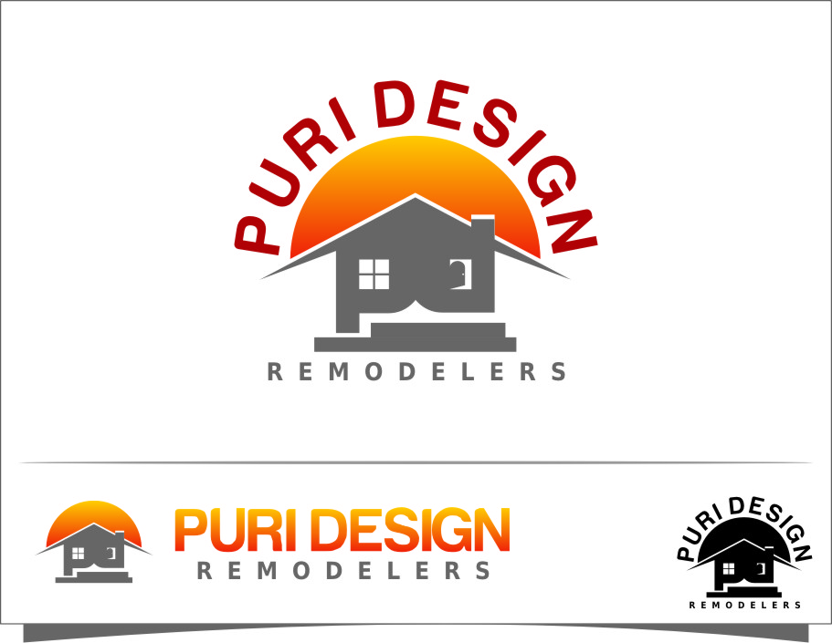 Logo Design by RasYa Muhammad Athaya - Entry No. 37 in the Logo Design Contest Custom Logo Design for Pure Design Remodelers.