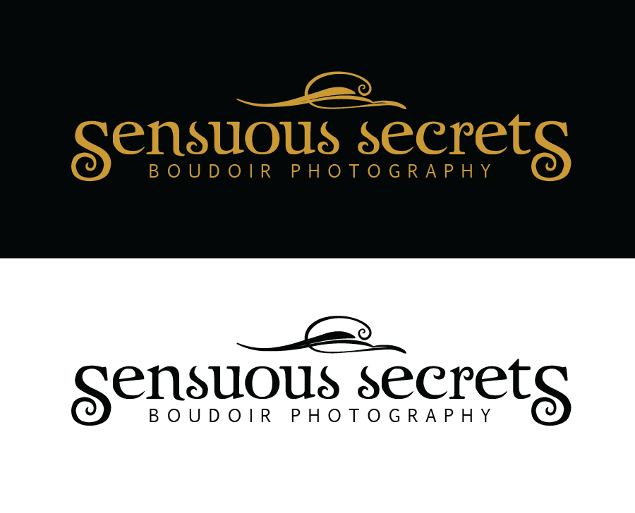 Logo Design by Christina Evans - Entry No. 1 in the Logo Design Contest Artistic Logo Design for Sensuous Secrets Boudoir Photography.
